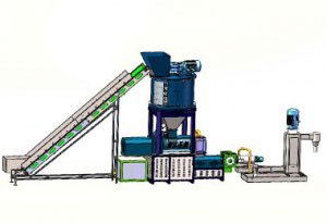 Recycling and Pelletizing Machine equipment 5